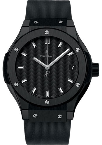 Hublot Watches - Classic Fusion 33mm Black Magic - Style No: 581.CM.1771.RX