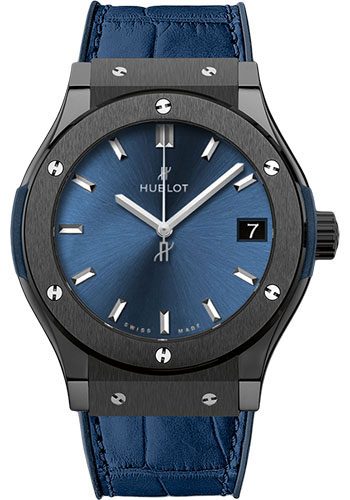 Hublot Watches - Classic Fusion 33mm Ceramic Blue - Style No: 581.CM.7170.LR