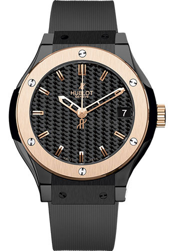 Hublot Watches - Classic Fusion 33mm Ceramic And King Gold - Style No: 581.CO.1780.RX