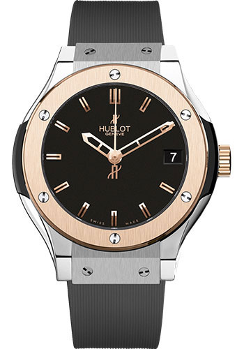 Hublot Watches - Classic Fusion 33mm Titanium And King Gold - Style No: 581.NO.1180.RX