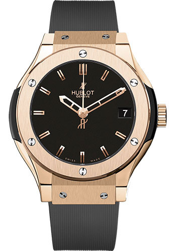 Hublot Watches - Classic Fusion 33mm King Gold - Style No: 581.OX.1180.RX