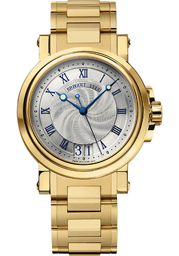 Breguet Watches - Marine 5817 - 39mm - Yellow Gold - Style No: 5817BA/12/AM0