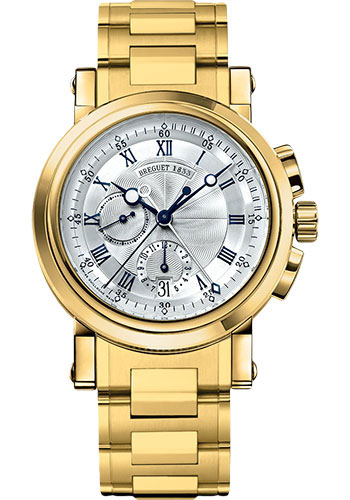 Breguet Watches - Marine 5827 - Chronograph - 42mm - Style No: 5827BA/12/AM0