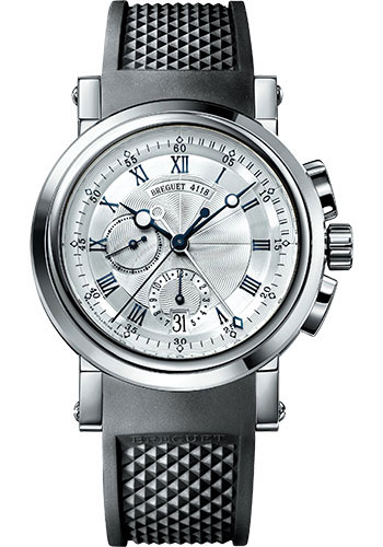 Breguet Watches - Marine 5827 - Chronograph - 42mm - Style No: 5827BB/12/5ZU
