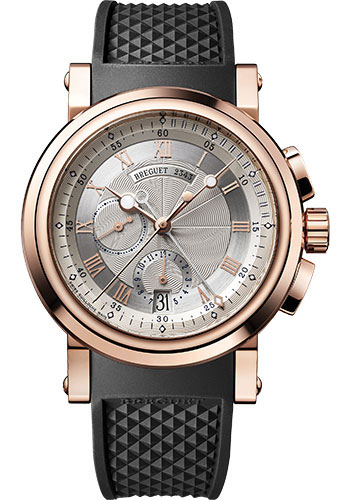 Breguet Watches - Marine 5827 - Chronograph - 42mm - Style No: 5827BR/12/5ZU