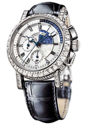 Breguet Watches - Marine 5829 - Chronograph - 43mm - Style No: 5829BB/8S/9ZU.DD0D