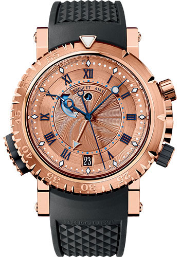 Breguet Watches - Marine 5847 - Royale Alarm - 45mm - Style No: 5847BR/32/5ZV