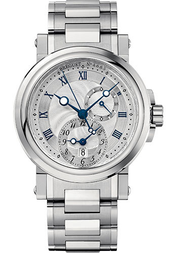 Breguet Watches - Marine 5857 - GMT - 42mm - Style No: 5857ST/12/SZ0