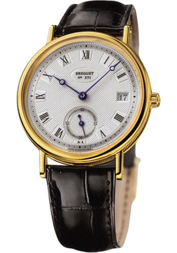 Breguet Watches - Classique 34.6mm - Yellow Gold - Style No: 5920BA/15/984