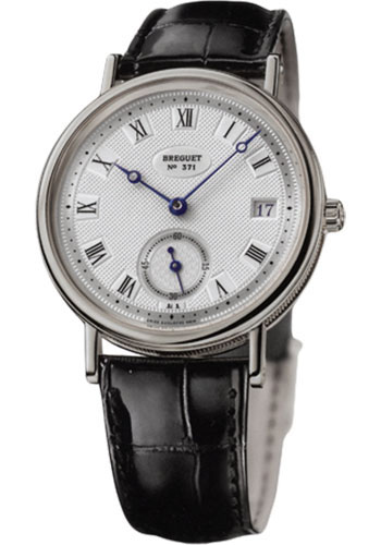 Breguet Watches - Classique 34.6mm - White Gold - Style No: 5920BB/15/984