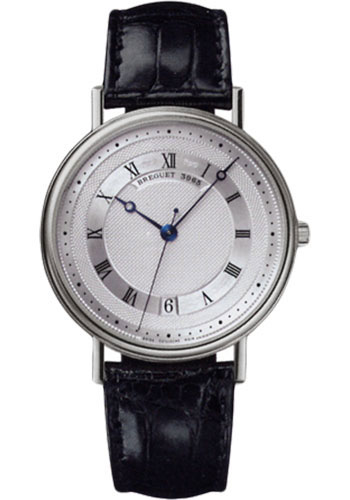 Breguet Watches - Classique 35.5mm - White Gold - Style No: 5930BB/12/986