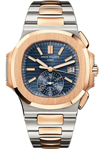 Patek Philippe Watches - Nautilus 40mm - Steel and Gold - Style No: 5980/1AR-001
