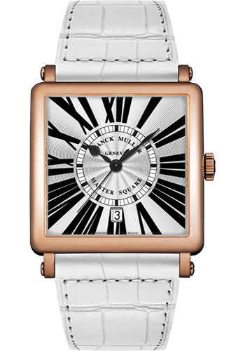 Franck Muller Watches - Master Square - 36 mm - Style No: 6000 H SC DT R 5N White White