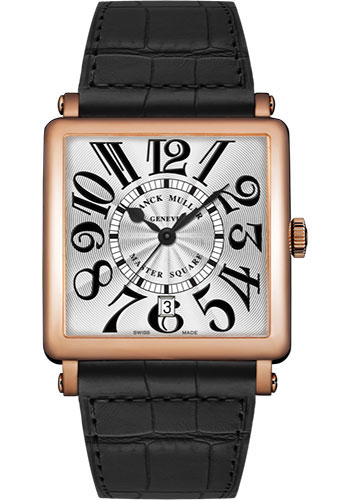 Franck Muller Watches - Master Square - 36 mm - Style No: 6000 H SC DT V 5N White Black