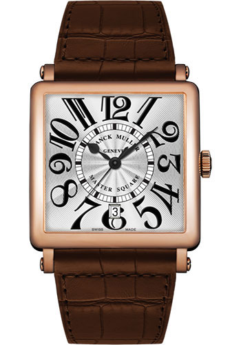 Franck Muller Watches - Master Square - 36 mm - Style No: 6000 H SC DT V 5N White Brown