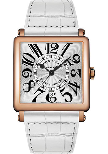 Franck Muller Watches - Master Square - 36 mm - Style No: 6000 H SC DT V 5N White White