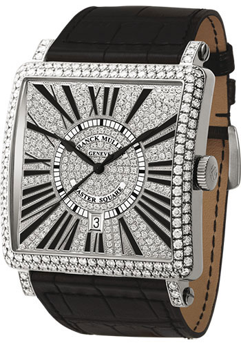 Franck Muller Watches - Master Square - Style No: 6000 K SC DT R D CD