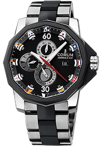Corum Watches - Admiral's Cup Tides 48 Titanium - Style No: 277.931.06/V791 AN12