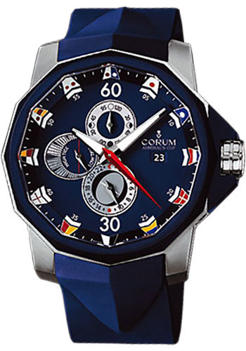 Corum Watches - Admiral's Cup Tides 48 Titanium - Style No: 277.933.06/0373 AB12