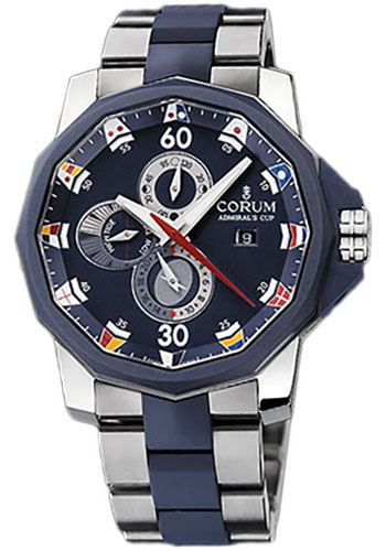 Corum Watches - Admiral's Cup Tides 48 Titanium - Style No: 277.933.06/V793 AB12