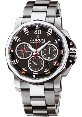 Corum Watches - Admiral's Cup Challenge 44 Stainless Steel - Style No: 753.691.20/V701 AN92