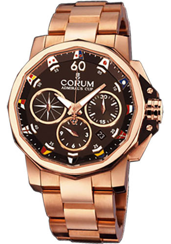 Corum Watches - Admiral's Cup Challenge 44 Gold - Style No: 753.692.55/V700 AG12