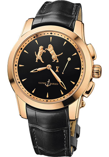 Ulysse Nardin Watches - Classic Hourstriker Tiger - Style No: 6106-130/E2-TIGER