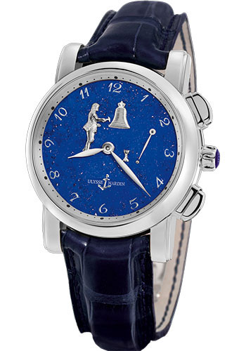 Ulysse Nardin Watches - Classic Hourstriker 42mm - Style No: 6109-103/E3