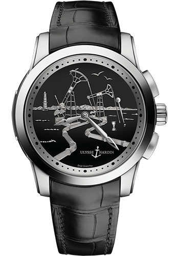 Ulysse Nardin Watches - Classico Hourstriker - Style No: 6109-131/E2-OIL