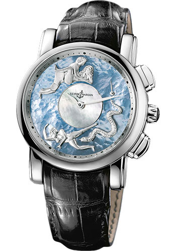 Ulysse Nardin Watches - Classic Hourstriker Erotica - Style No: 6119-103/P0-P2