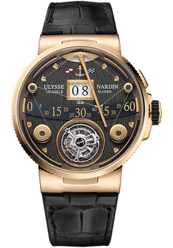 Ulysse Nardin Watches - Marine Grand Deck - Style No: 6302-300/GD