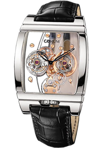 Corum Watches - Golden Bridge Tourbillon Panoramique Platinum - Style No: 382.850.70/0F01 0000