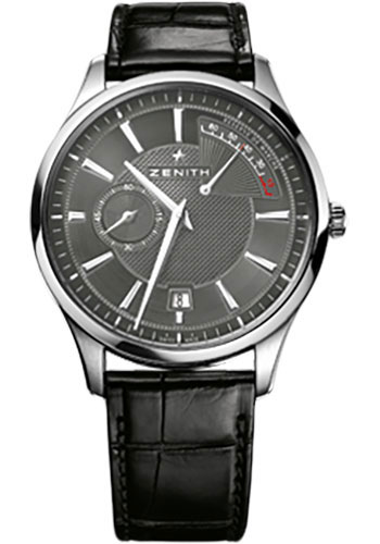 Zenith Watches - Captain Power Reserve White Gold - Style No: 65.2120.685/91.C493