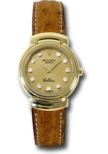 Rolex Watches - Cellini Quartz Ladies - Style No: 6621.8 chd