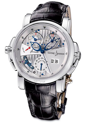 Ulysse Nardin Watches - Classic Sonata Cathedral Dual Time - Style No: 670-88