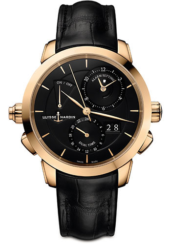 Ulysse Nardin Watches - Classic Sonata Rose Gold - Style No: 672-05/92