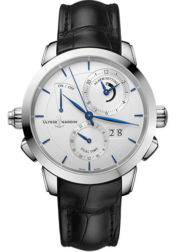 Ulysse Nardin Watches - Classic Sonata Stainless Steel - Style No: 673-05/90