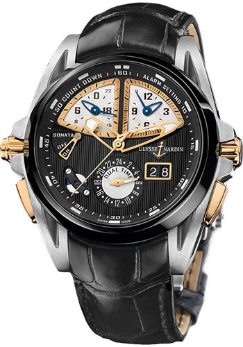 Ulysse Nardin Watches - Sonata Streamline - Style No: 675-00