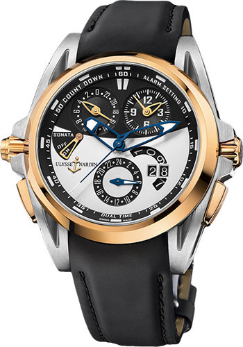 Ulysse Nardin Watches - Sonata Streamline - Style No: 675-01-4