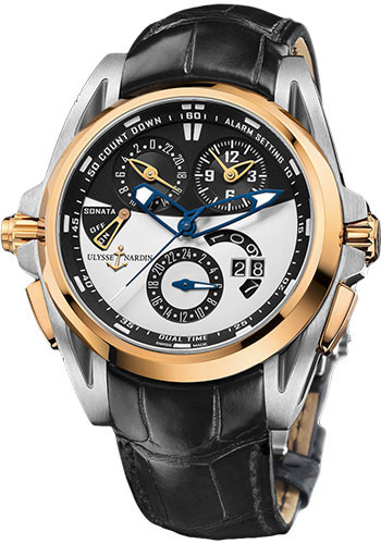Ulysse Nardin Watches - Sonata Streamline - Style No: 675-01