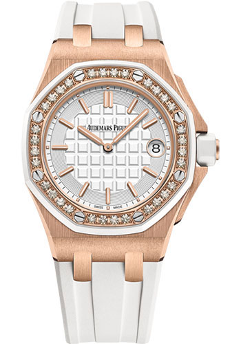Audemars Piguet Watches - Royal Oak Offshore Quartz 37mm - Pink Gold - Style No: 67540OK.ZZ.A010CA.01