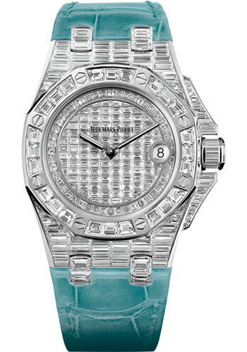 Audemars Piguet Watches - Royal Oak Offshore Quartz 37mm - White Gold - Style No: 67543BC.ZZ.D314CR.01