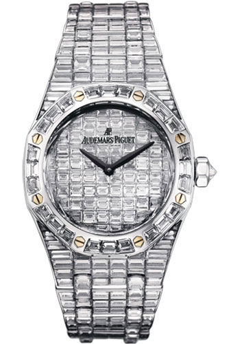 Audemars Piguet Watches - Royal Oak Quartz 33mm - White Gold - Style No: 67606BC.ZZ.9179BC.01
