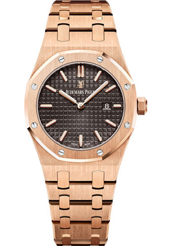 Audemars Piguet Watches - Royal Oak Quartz 33mm - Pink Gold - Style No: 67650OR.OO.1261OR.01