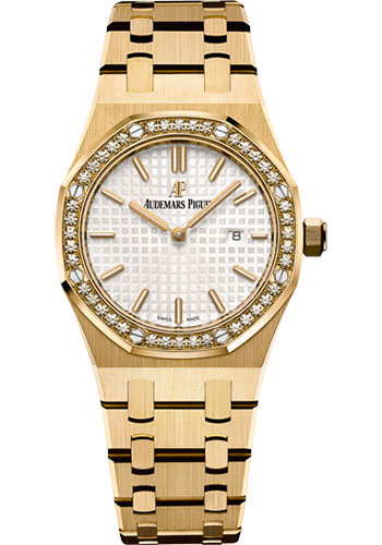 Audemars Piguet Watches - Royal Oak Quartz 33mm - Yellow Gold - Style No: 67651BA.ZZ.1261BA.01