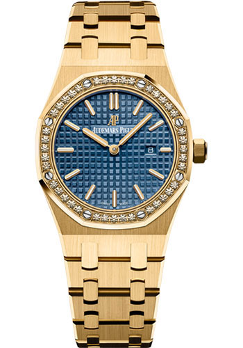Audemars Piguet Watches - Royal Oak Quartz 33mm - Yellow Gold - Style No: 67651BA.ZZ.1261BA.02