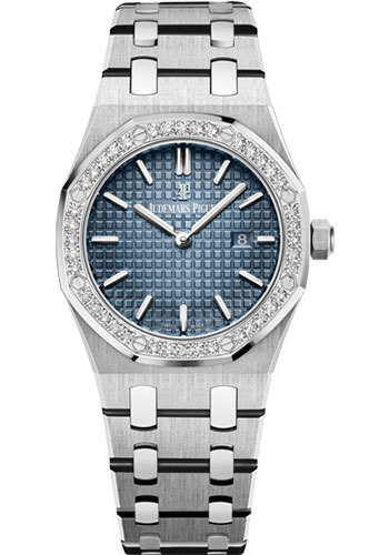 Audemars Piguet Watches - Royal Oak Quartz 33mm - Titanium - Style No: 67651IP.ZZ.1261IP.01