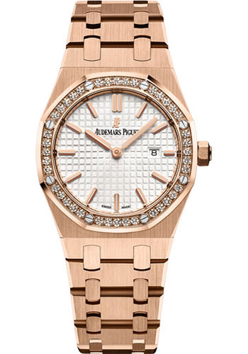 Audemars Piguet Watches - Royal Oak Quartz 33mm - Pink Gold - Style No: 67651OR.ZZ.1261OR.01