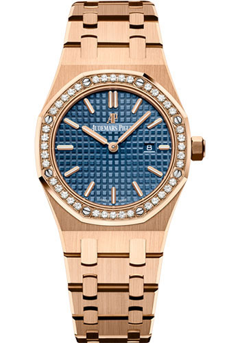 Audemars Piguet Watches - Royal Oak Quartz 33mm - Pink Gold - Style No: 67651OR.ZZ.1261OR.02
