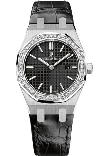 Audemars Piguet Watches - Royal Oak Quartz 33mm - Stainless Steel - Style No: 67651ST.ZZ.D002CR.01